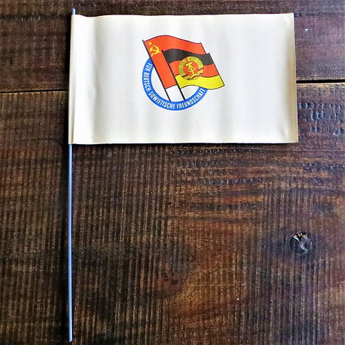 Various DDR Waving Flag Parade German-Soviet Friendship Organisation