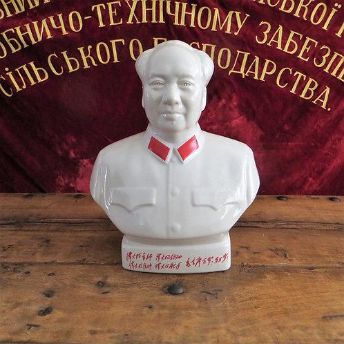 Bust Mao Porcelain Big