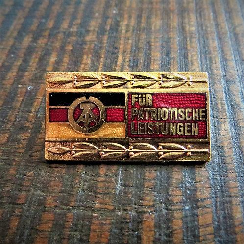 "Pin DDR Patriotic Achievements ""Gold"" Edition"