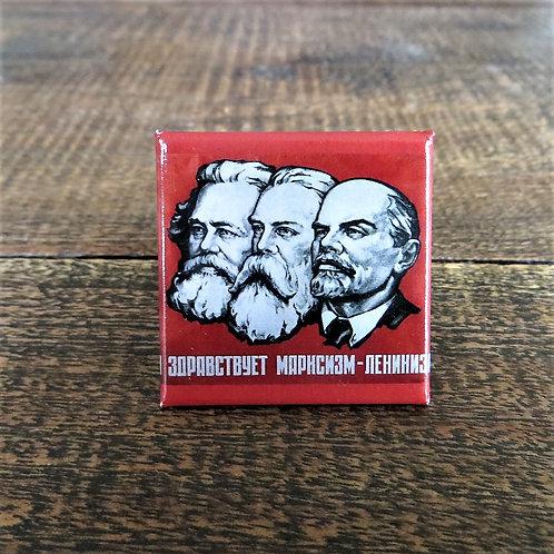 Fridge Magnet FM019 Marx, Engels, Lenin