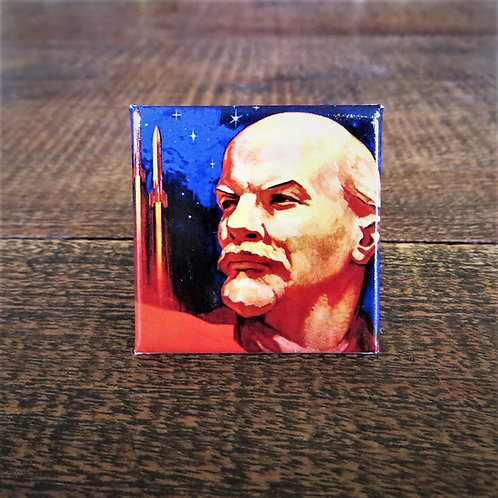 Fridge Magnet Lenin