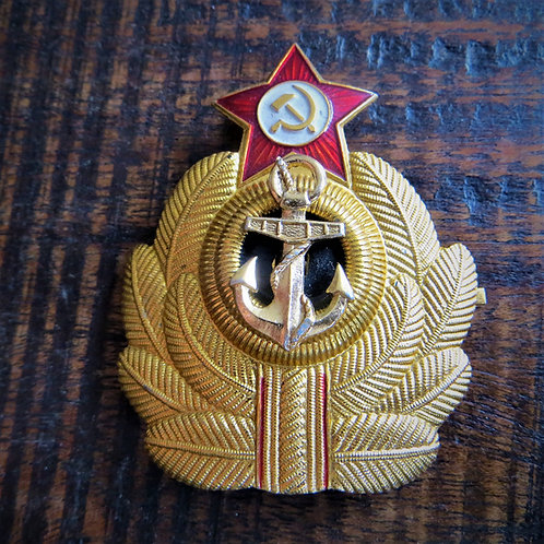 Pin Soviet Russia Hat Navy Officer Hat Pin