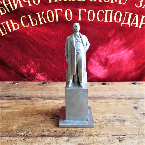 Statue Lenin With Signature 1974