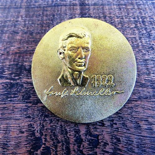 Medal DDR SED District Party School Ernst Schneller