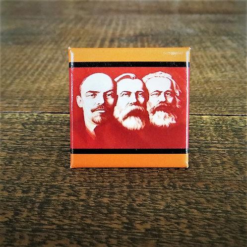 Fridge Magnet Lenin, Friedrich Engels, Karl Marx