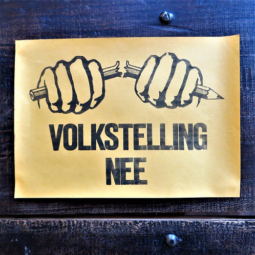 Poster Netherlands Original No Census