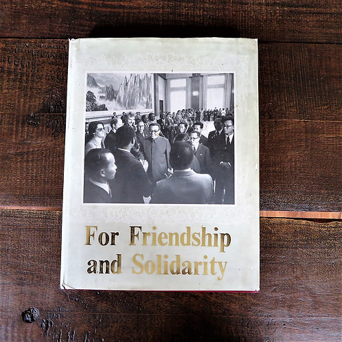 Book North Korea For Friendship And Solidarity 1982