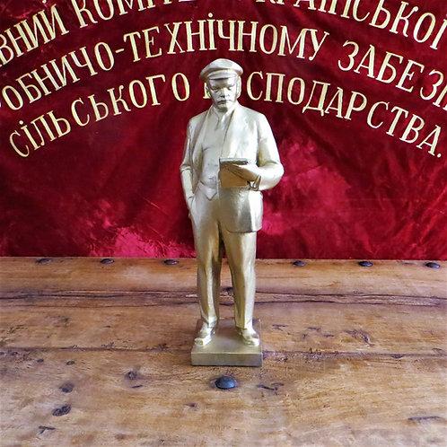 Statue Lenin Big Golden Lenin