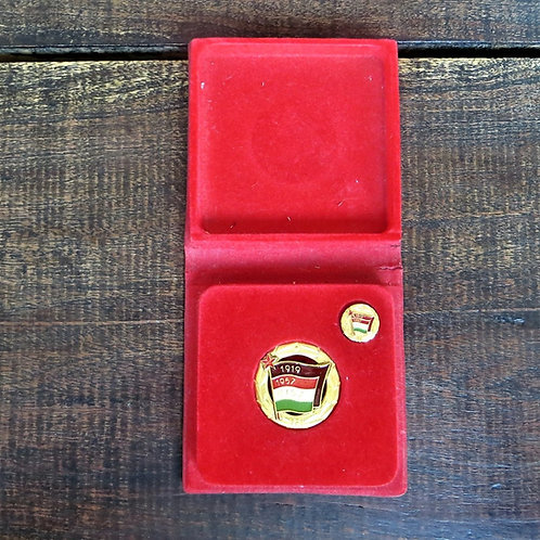 Table Medal Hungary Hungarian Young Communist League