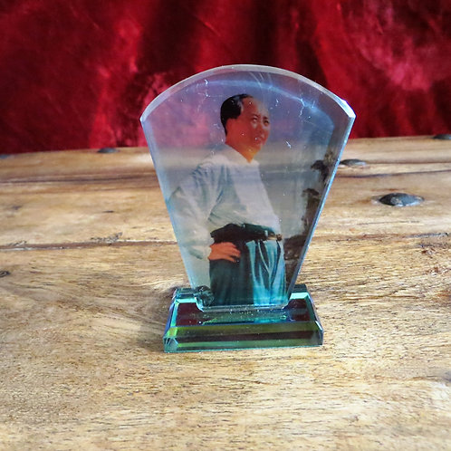 Desktop China Mao Zedong In Glass
