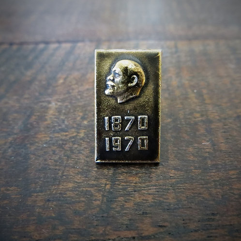 Pin Soviet Russia Lenin 100th. Birthday Lenin 1970