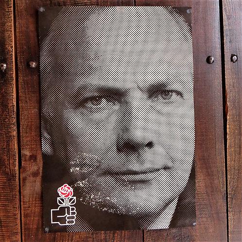 Poster Netherlands Original PLabour Party Netherlands Joop Den Uyl