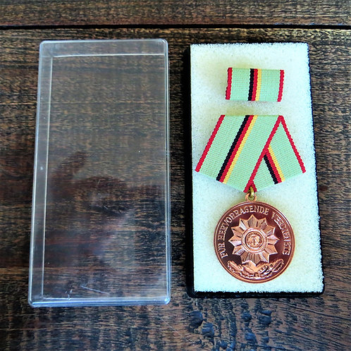 Medal DDR Medal Of Excellent Service Ministry Of Interior Bronze