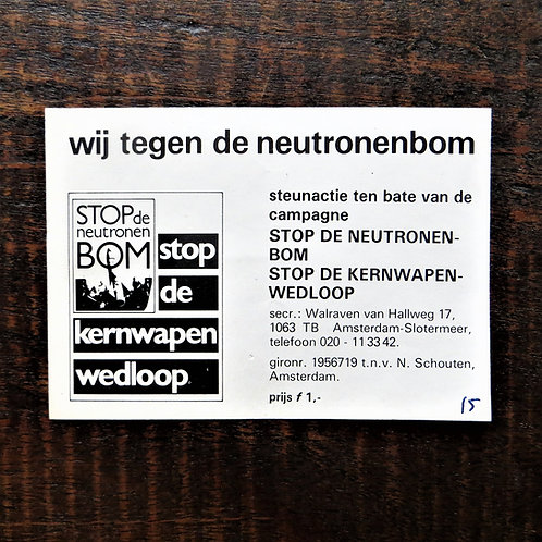 Document Netherlands Support Anti-Atom Bomb