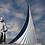 Thumbnail: Postcard Soviet Russia Space Cosmonauts Alley 3D