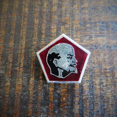 Pin Soviet Russia Lenin Looking Right