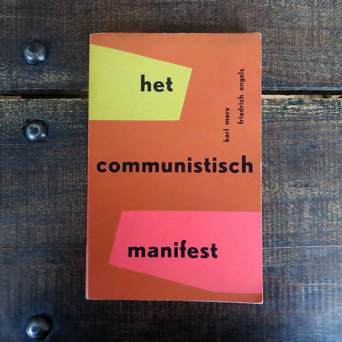 Books Netherlands Communistisch Manifest 1956
