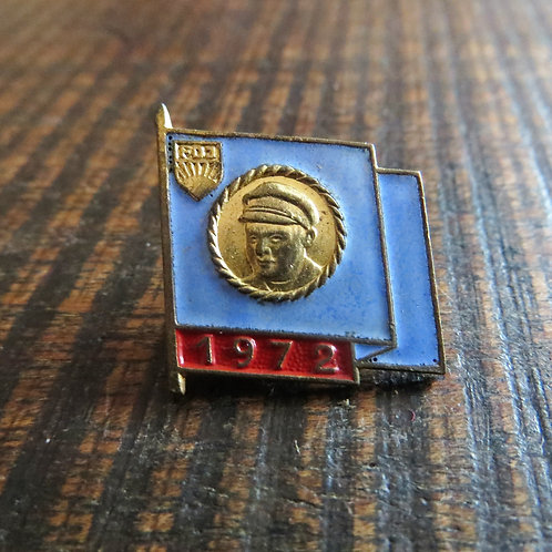 Pin DDR Pin Young Pioneers Purple Flag 1972