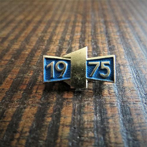 Pin DDR Blue Edition 1975