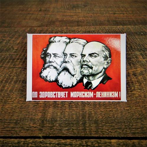 Fridge Magnet Marx, Engels, Lenin