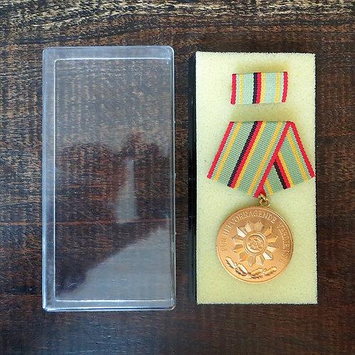 Medal DDR Medal Of Excellent Service Ministry Of Interior Gold