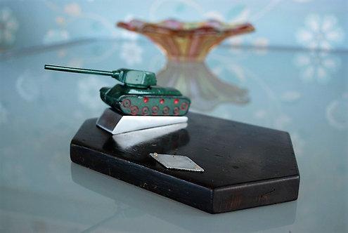 Desktop Soviet Russia Tank T-34 Honorary Gift Handmade