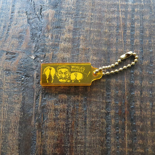 USA Various Key Tag Yellow