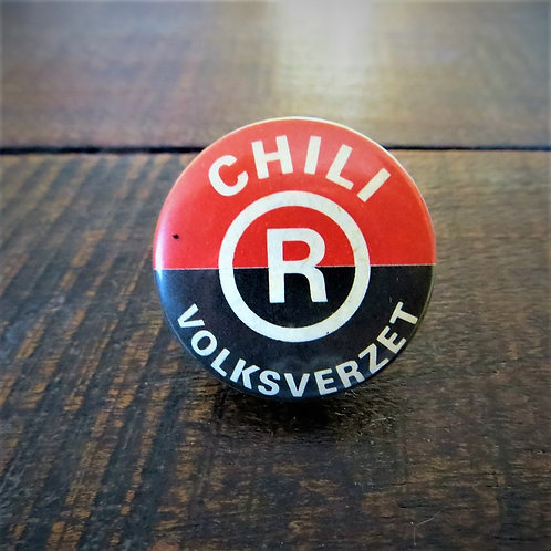 Pin Netherlands Chili People's Resistance