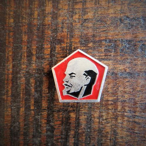 Pin Soviet Russia Lenin Looking Left