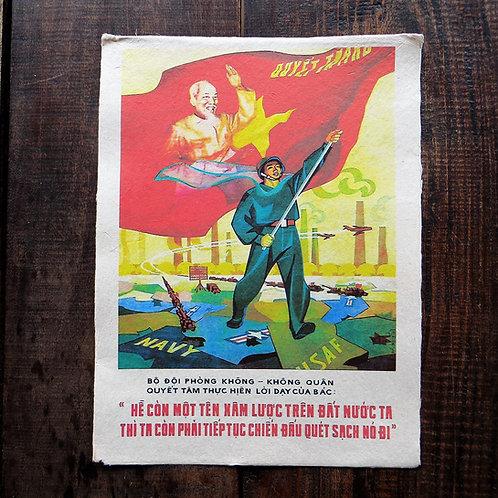 Poster Vietnam Reproduction Vietnam War