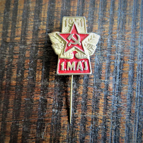 Pin Hungary Labour Day 1951