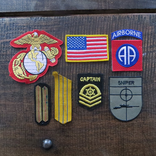 Set Of Different Patches