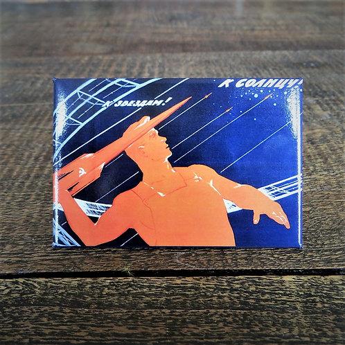 Fridge Magnet Soviet Space Magnet