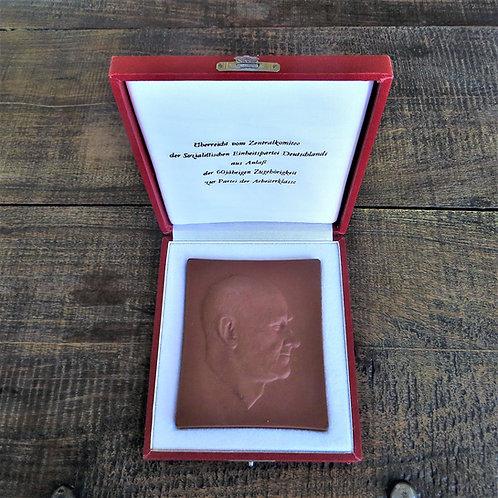Medal DDR 60 Years Of Membership SED