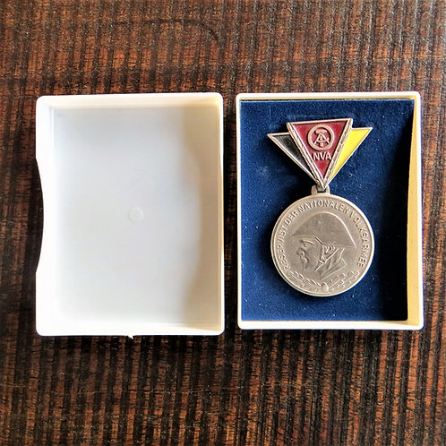 Medal DDR For Faithful Service In The National People's Army Reserve