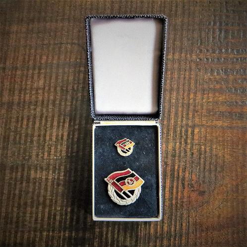 Pin DDR Soviet German Friendship