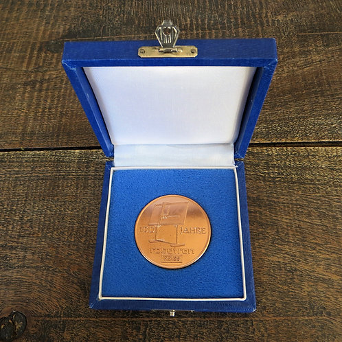 Medal DDR Robotron 1982
