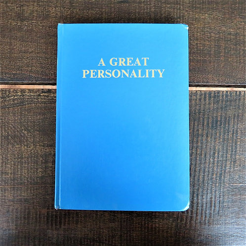 Book North Korea A Great Personality 1984