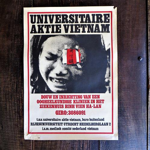Poster Netherlands Original University Action Vietnam