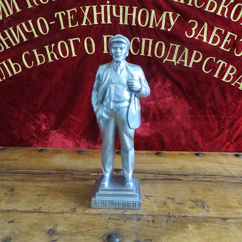 Statue Lenin 1967 With Inscription