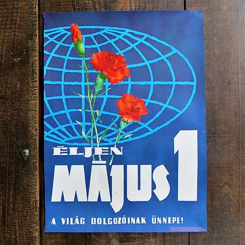 Poster Hungary Original Labour Day