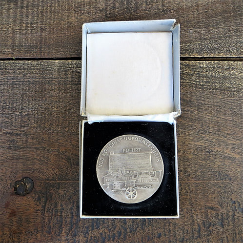 Medal DDR 75 Years Steel Factory