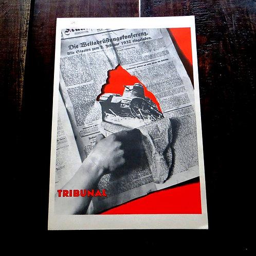 Poster Hungary Reproduction Sandor Ek Tribunal 1975