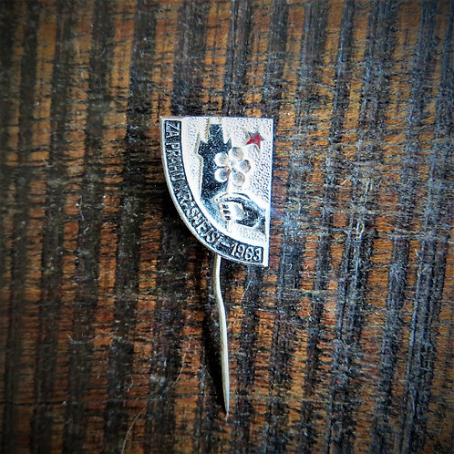 Pin Czechoslovakia Old Town Hall 1963