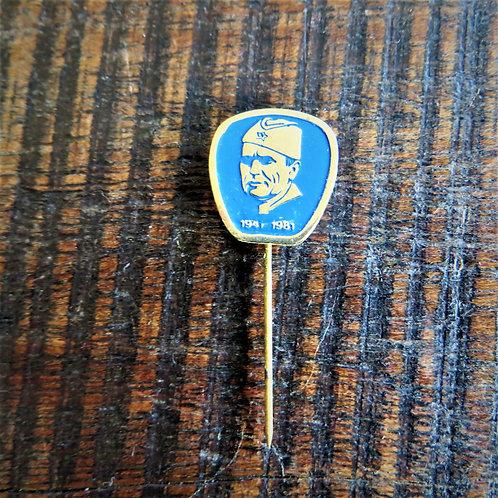 Pin Yugoslavia Tito