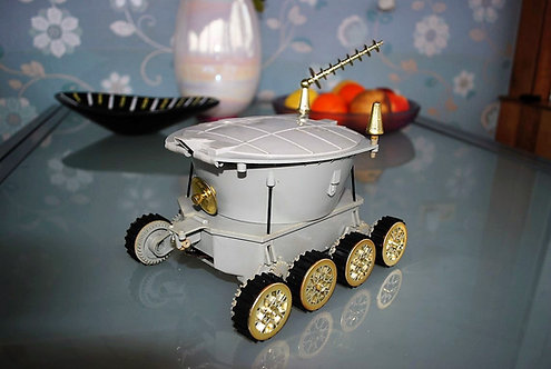 Various Soviet Union Lunokhod Toy