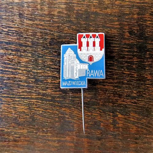 Pin Poland Rawa Mazowiecka