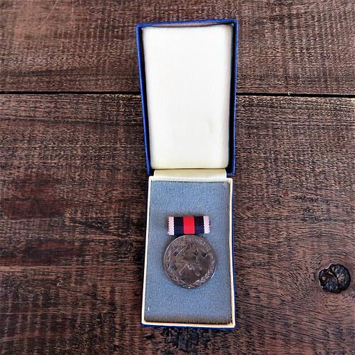 Medal DDR Faithful Service Firefighter