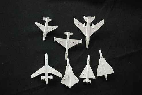 Complete set of Soviet Union planes