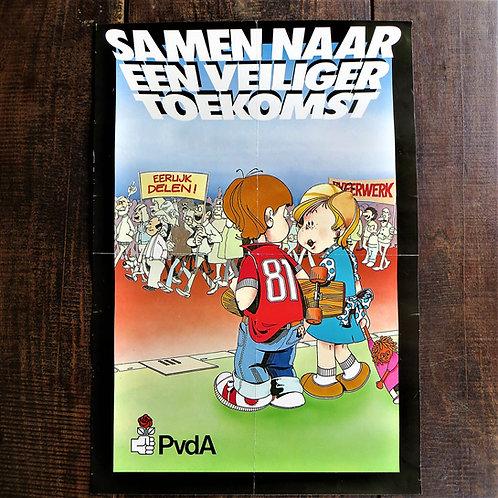 Poster Netherlands Original  Safer Future